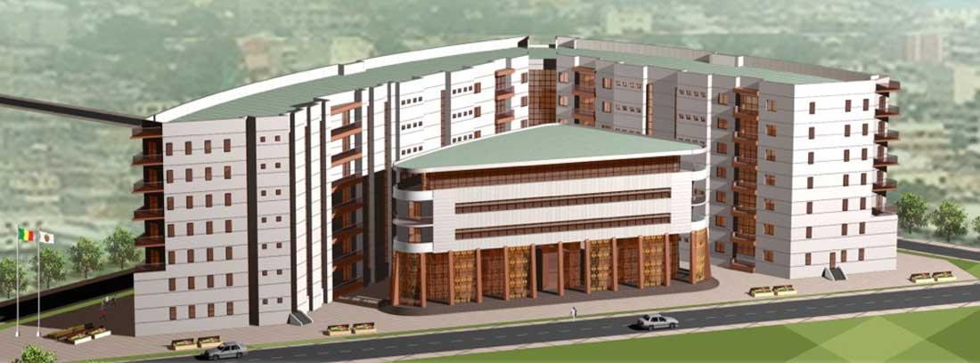 Projet de complexe administratif et commercial