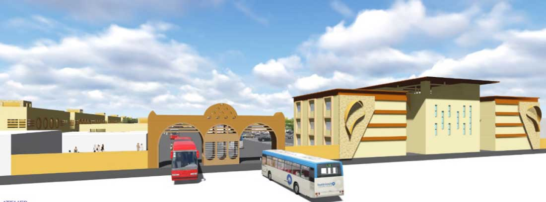 Projet de la gare de Sogoniko