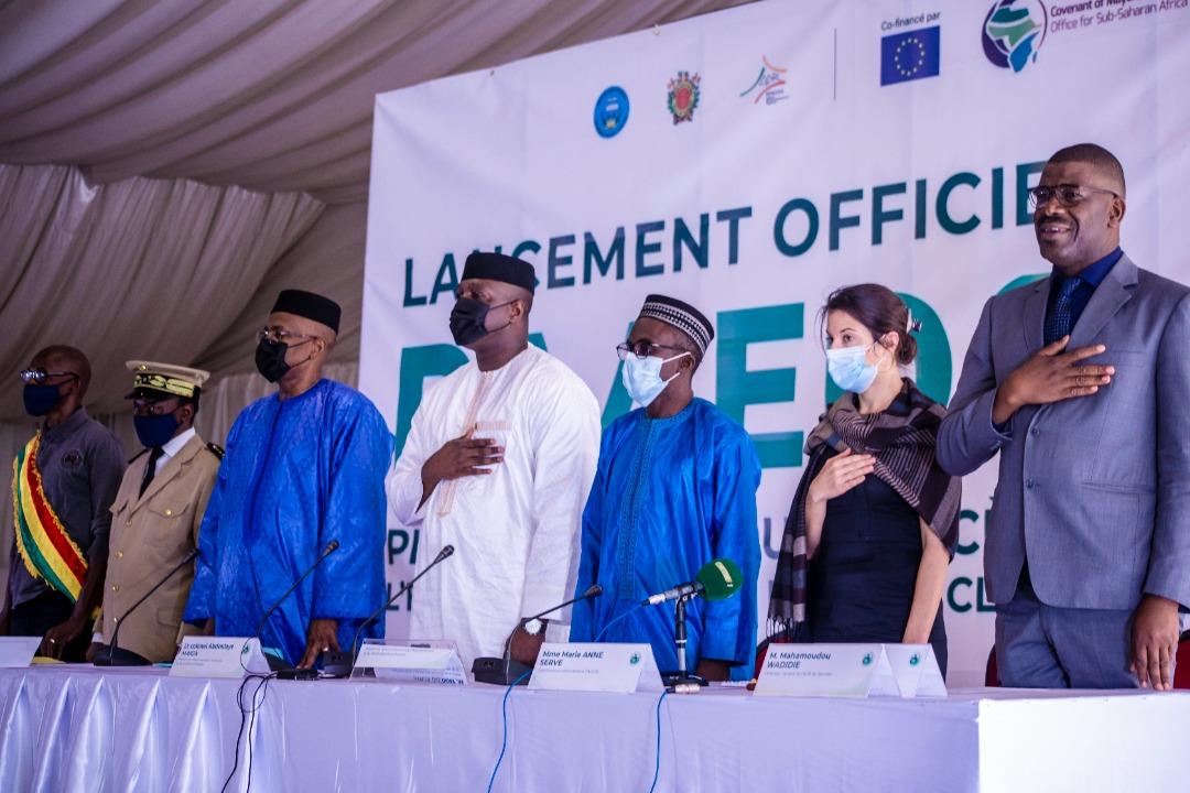 Cérémonie de lancement officiel de l'élaboration du Plan d'Action Accès Enèrgie Durable et pour le Climat du District de Bamako